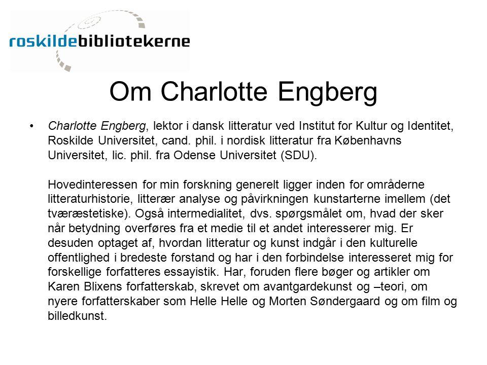 Om Charlotte Engberg