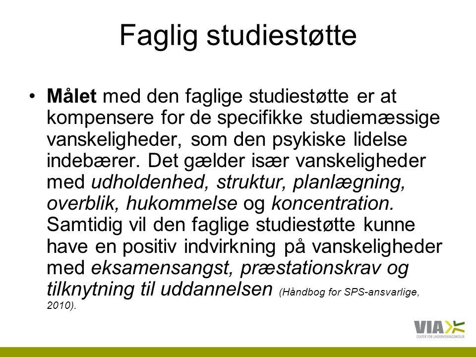 Faglig studiestøtte