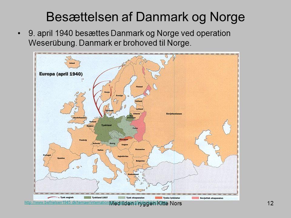 Besættelsen af Danmark og Norge