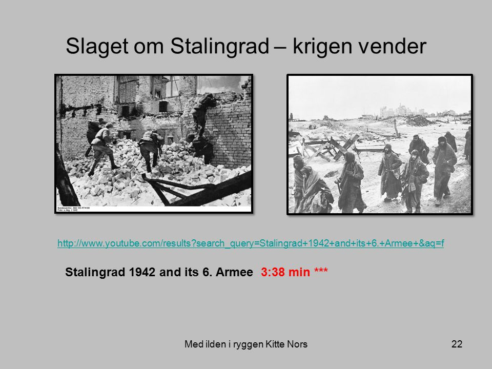 Slaget om Stalingrad – krigen vender