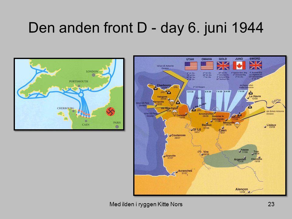 Den anden front D - day 6. juni 1944