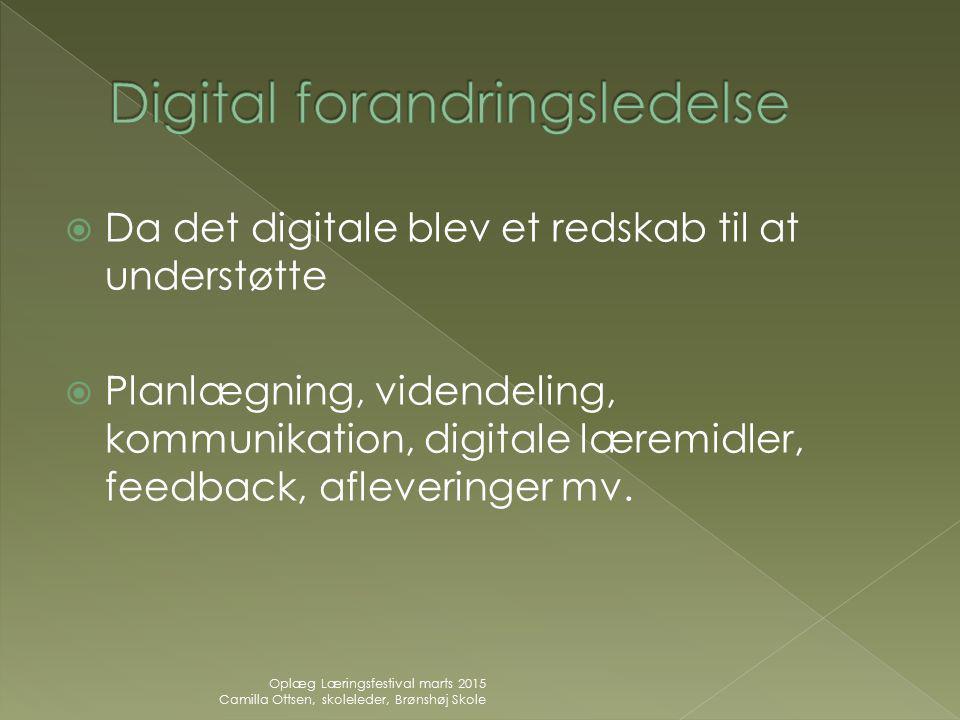 Digital forandringsledelse