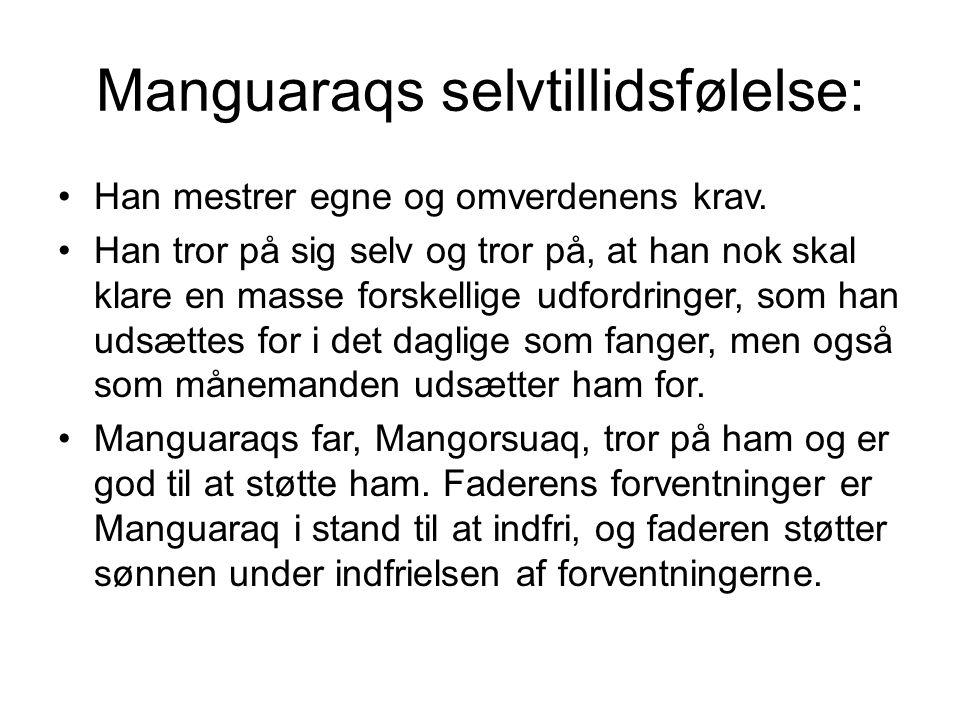 Manguaraqs selvtillidsfølelse: