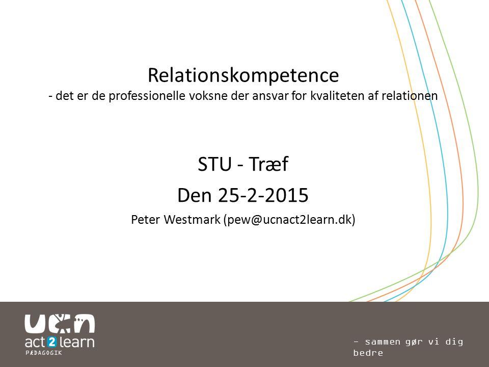 Peter Westmark (pew@ucnact2learn.dk)