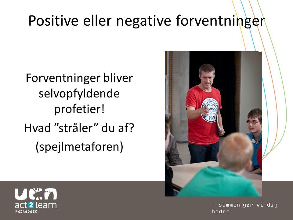 Positive eller negative forventninger