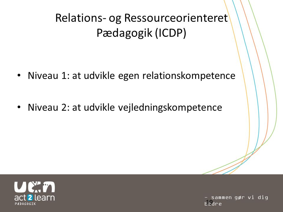 Relations- og Ressourceorienteret Pædagogik (ICDP)
