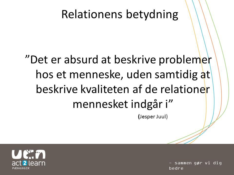 Relationens betydning