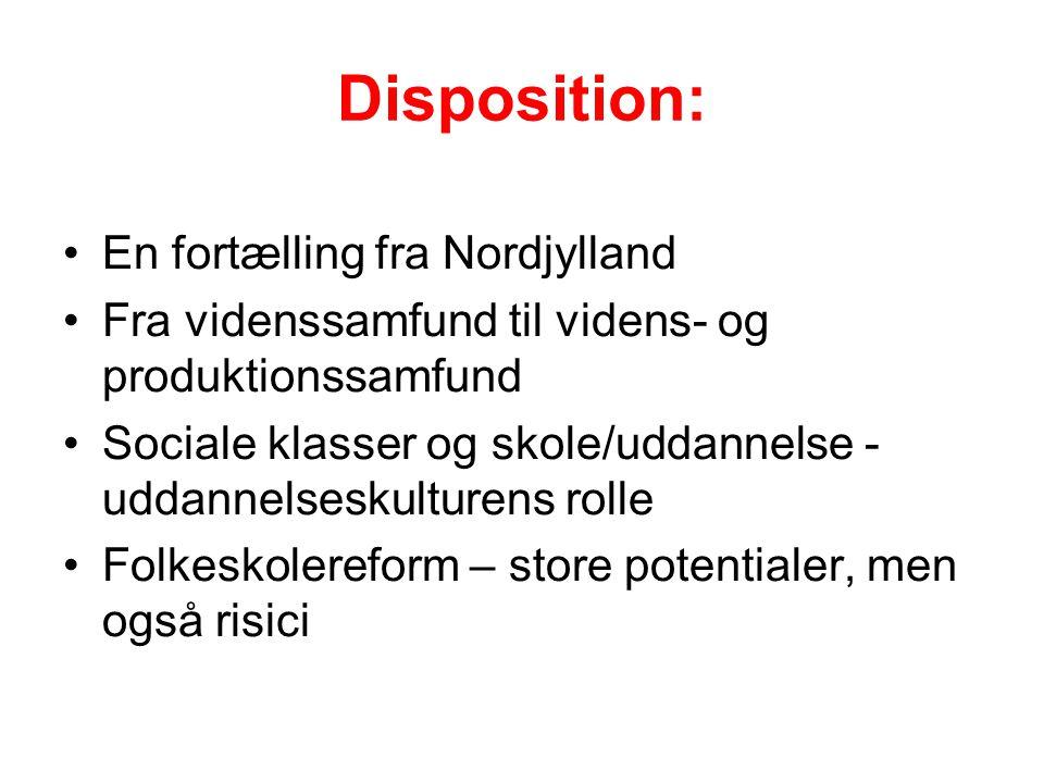 Disposition: En fortælling fra Nordjylland