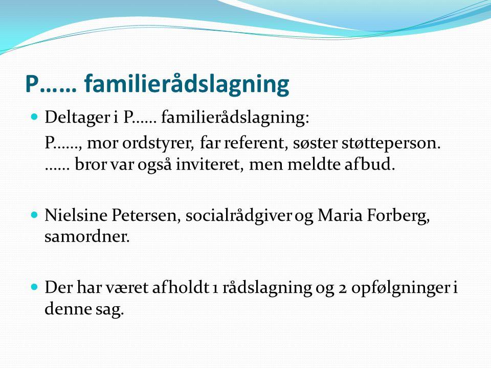 P…… familierådslagning