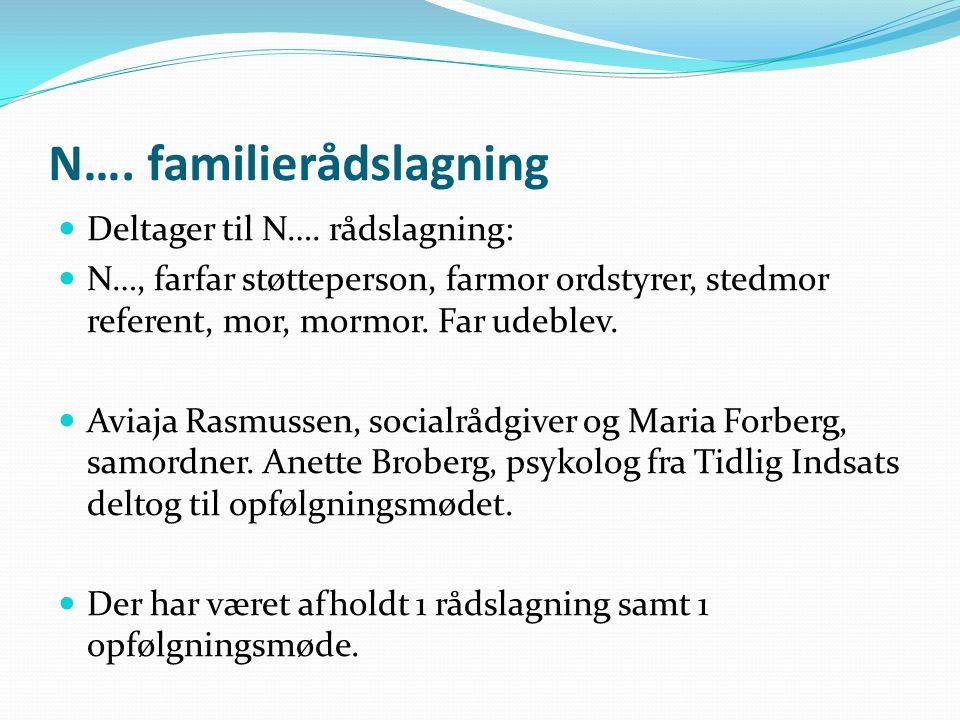 N…. familierådslagning