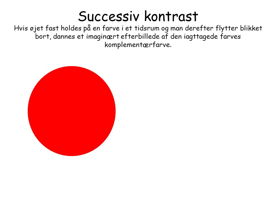 Successiv kontrast