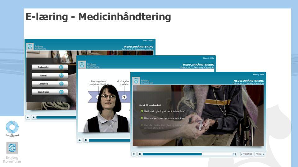 E-læring - Medicinhåndtering