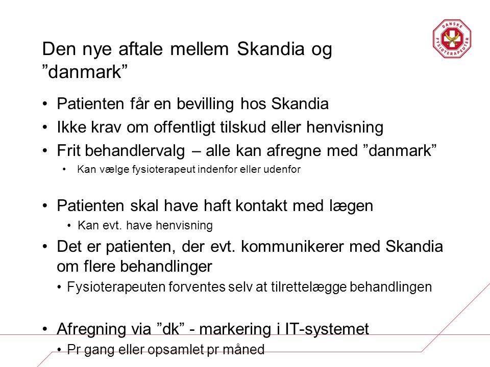 Den nye aftale mellem Skandia og danmark
