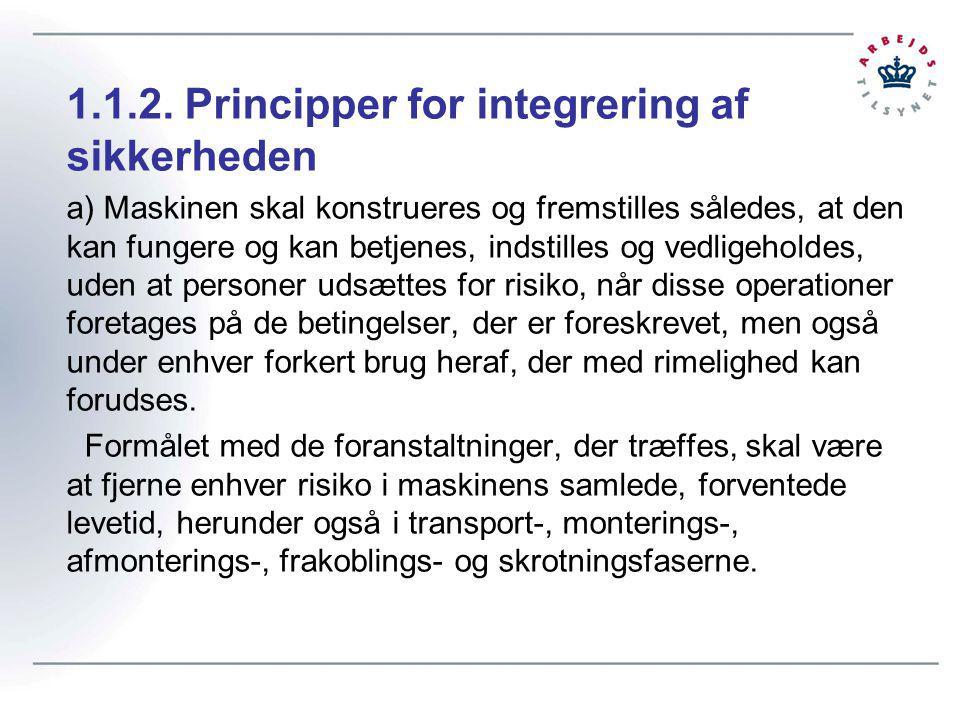 1.1.2. Principper for integrering af sikkerheden