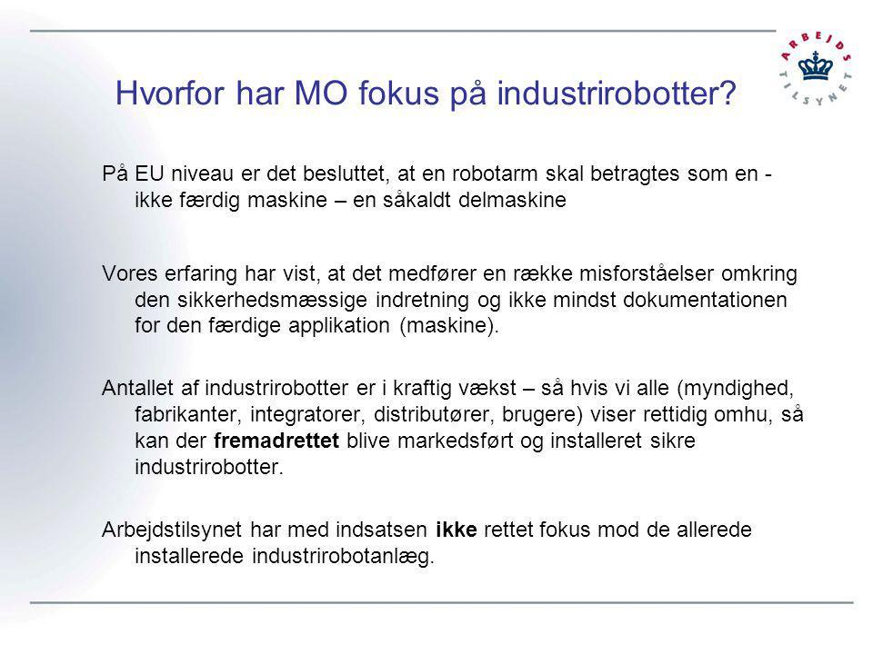 Hvorfor har MO fokus på industrirobotter