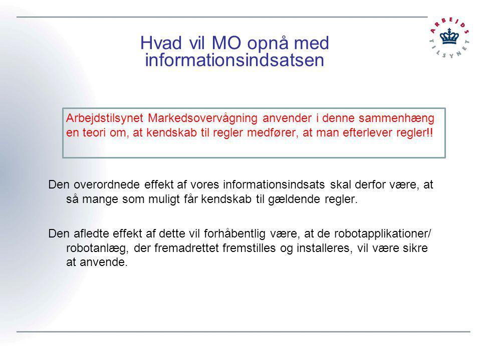 Hvad vil MO opnå med informationsindsatsen