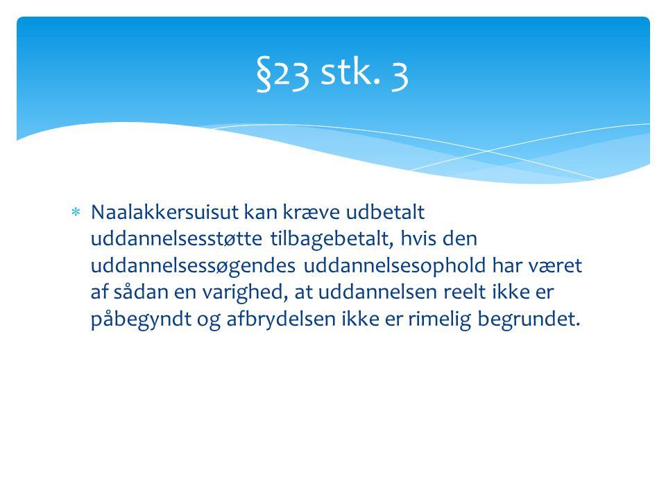 §23 stk. 3