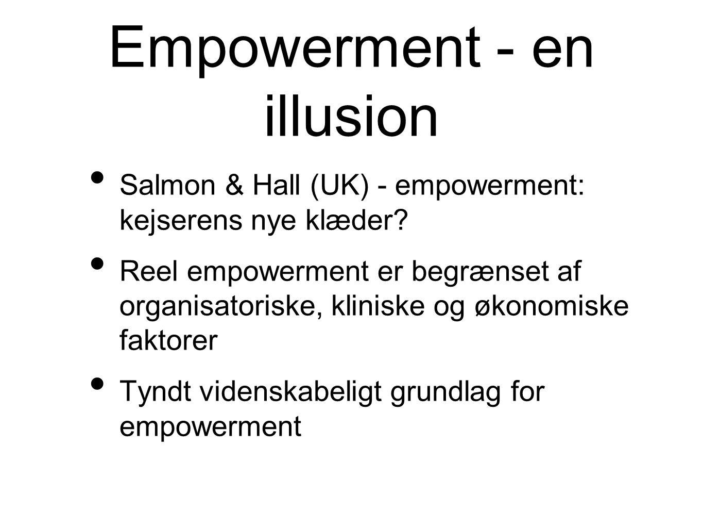 Empowerment - en illusion