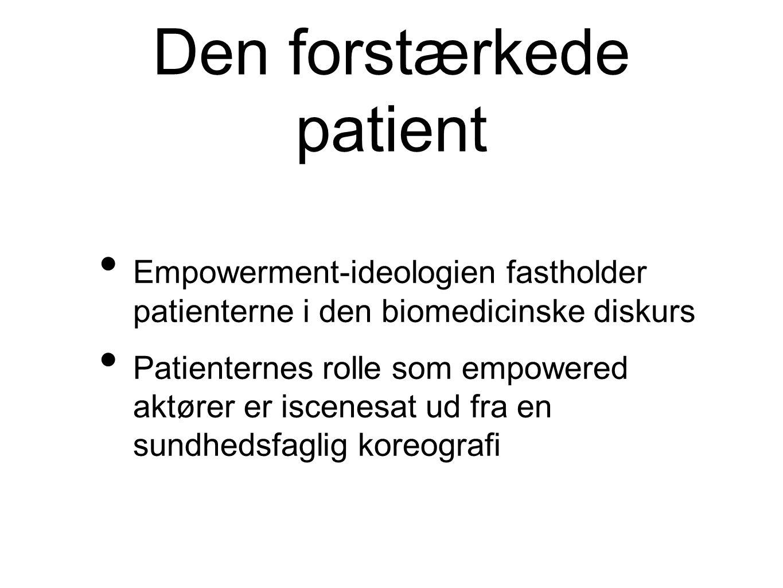 Den forstærkede patient