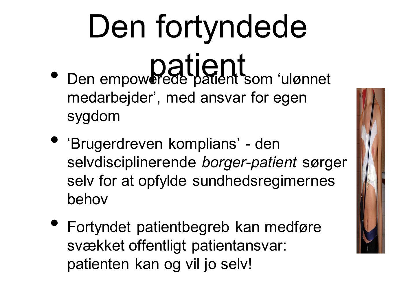 Den fortyndede patient