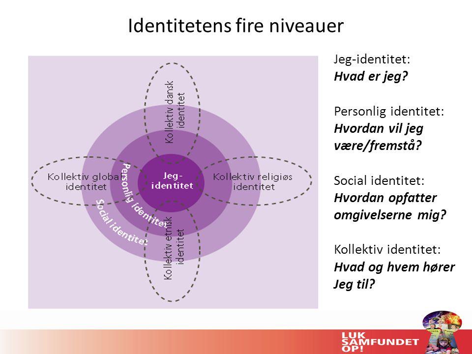 Identitetens fire niveauer