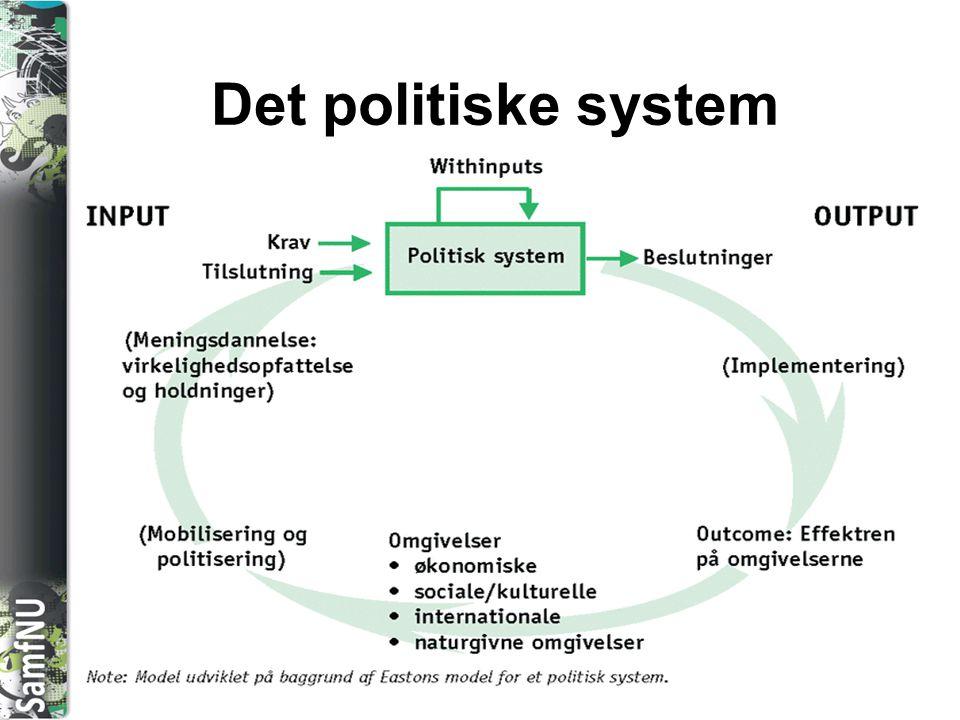 Det politiske system