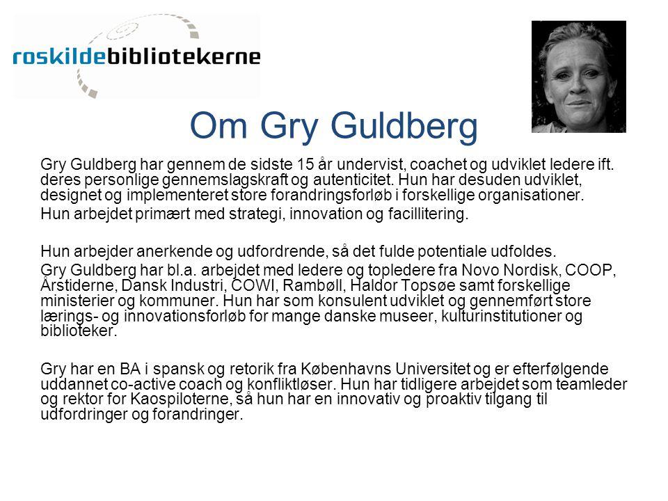 Om Gry Guldberg