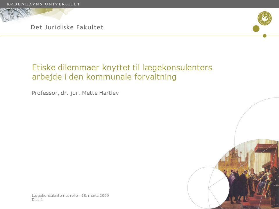 Professor, dr. jur. Mette Hartlev