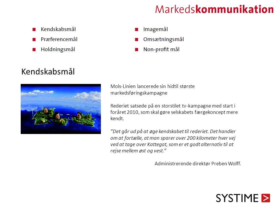 Kendskabsmål Mols-Linien lancerede sin hidtil største markedsføringskampagne.
