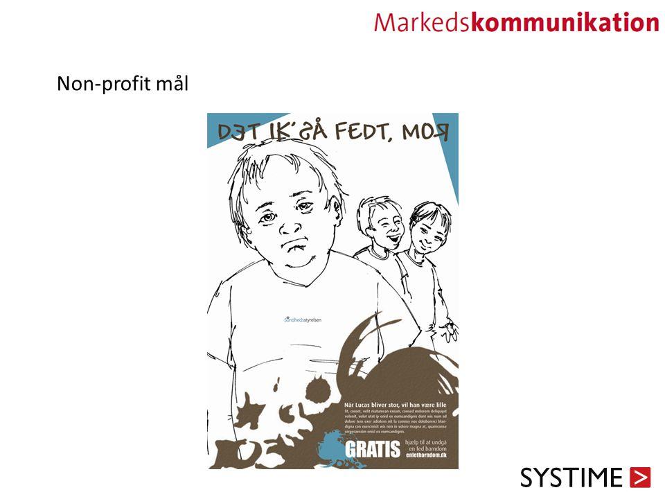 Non-profit mål