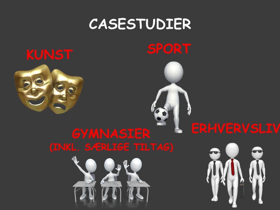 casestudier sport kunst erhvervsliv Gymnasier (inkl. særlige tiltag)