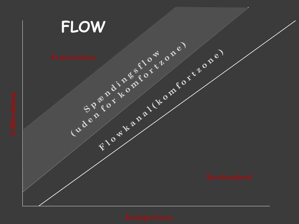 flow ( u d e n f o r k o m f o r t z o n e ) S p æ n d i n g s f l o w