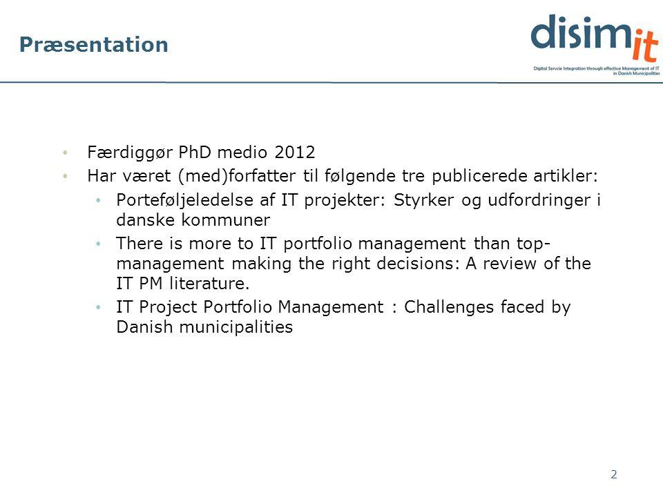 Præsentation Færdiggør PhD medio 2012