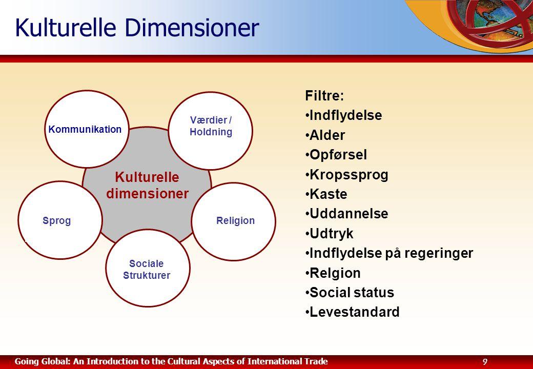 Kulturelle Dimensioner