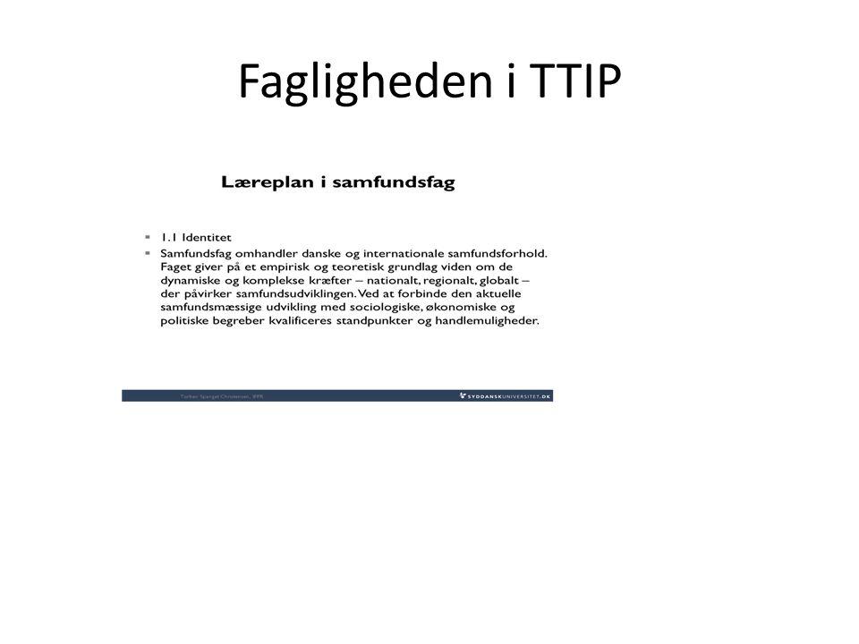 Fagligheden i TTIP