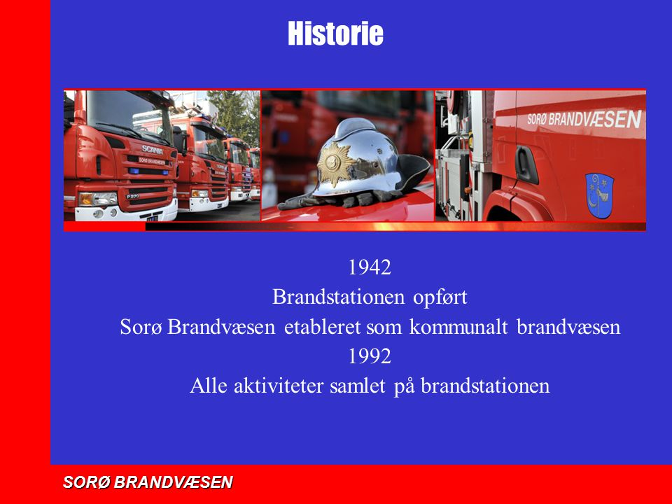 Historie 1942 Brandstationen opført
