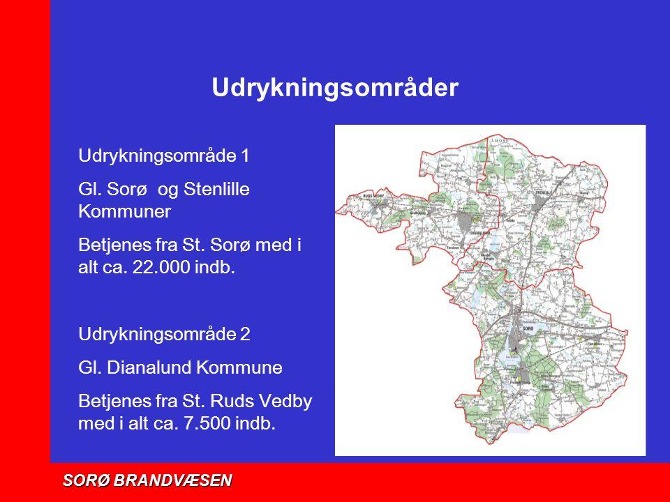 Udrykningsområder Udrykningsområde 1 Gl. Sorø og Stenlille Kommuner
