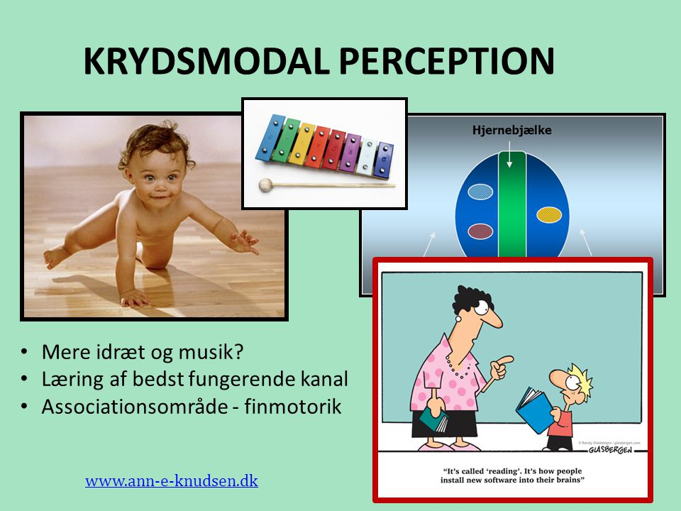 KRYDSMODAL PERCEPTION