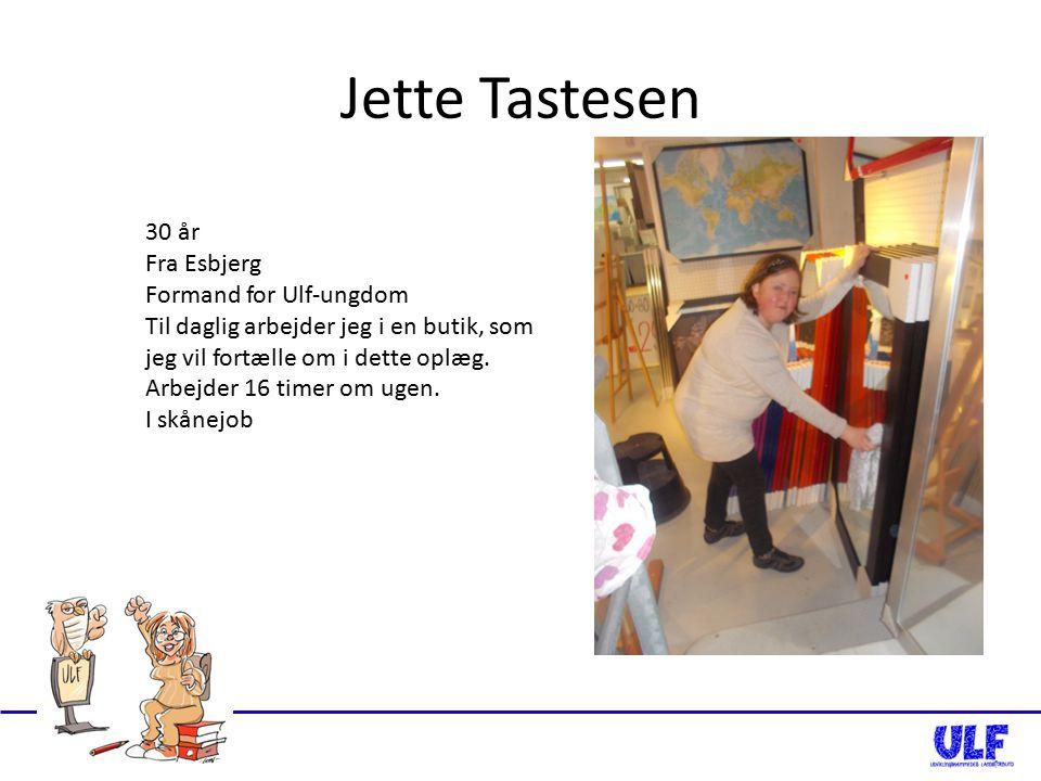 Jette Tastesen 30 år Fra Esbjerg Formand for Ulf-ungdom