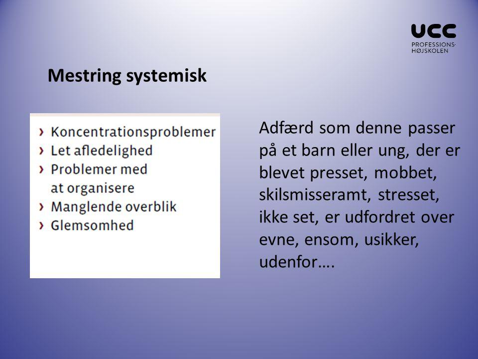 Mestring systemisk