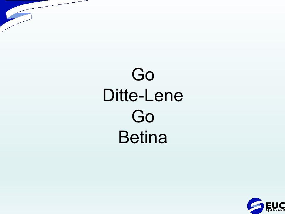 Go Ditte-Lene Go Betina