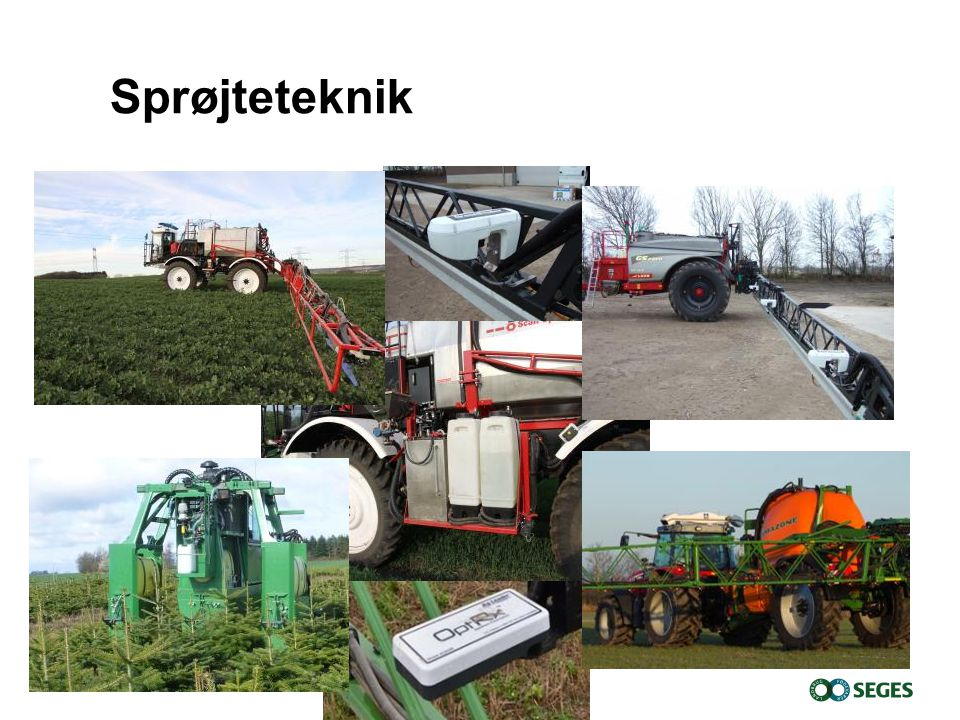 8. april 2017 Sprøjteteknik