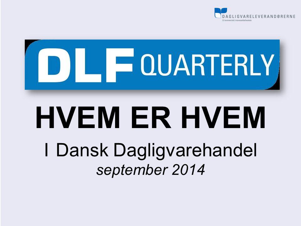HVEM ER HVEM I Dansk Dagligvarehandel september 2014