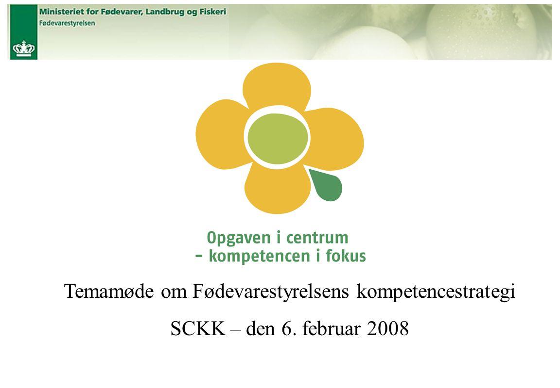 Temamøde om Fødevarestyrelsens kompetencestrategi