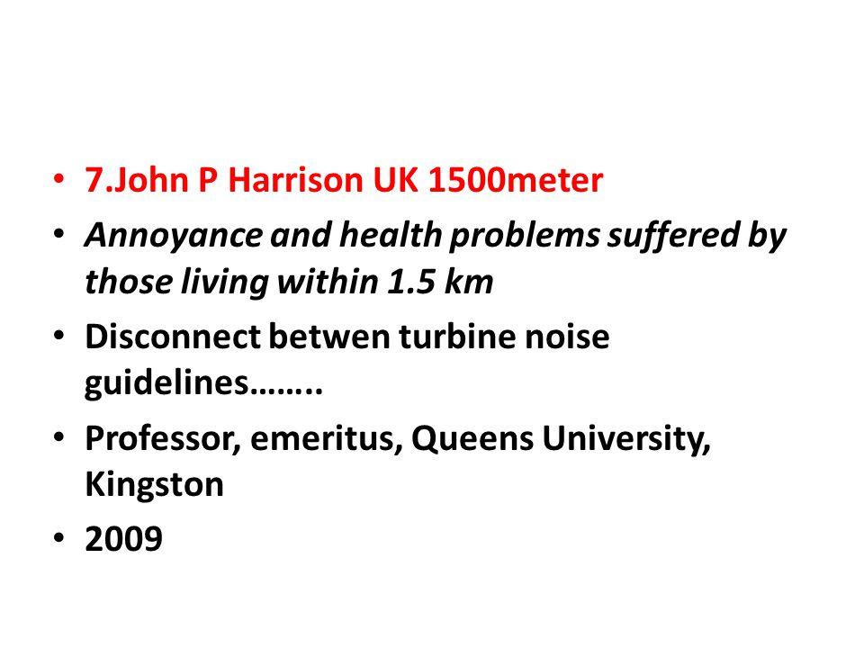 7.John P Harrison UK 1500meter