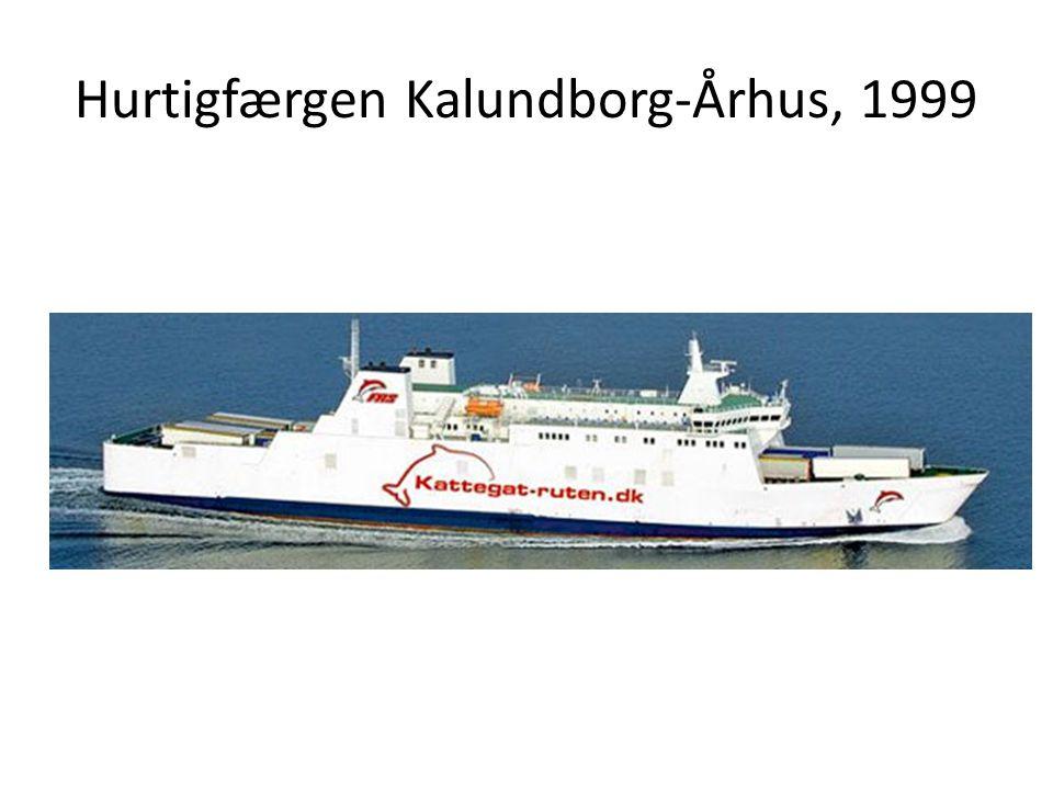 Hurtigfærgen Kalundborg-Århus, 1999