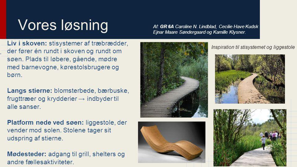 Vores løsning Af: GR 6A Caroline N. Lindblad, Cecilie Have Kudsk Ejnar Maare Søndergaard og Kamille Klysner.