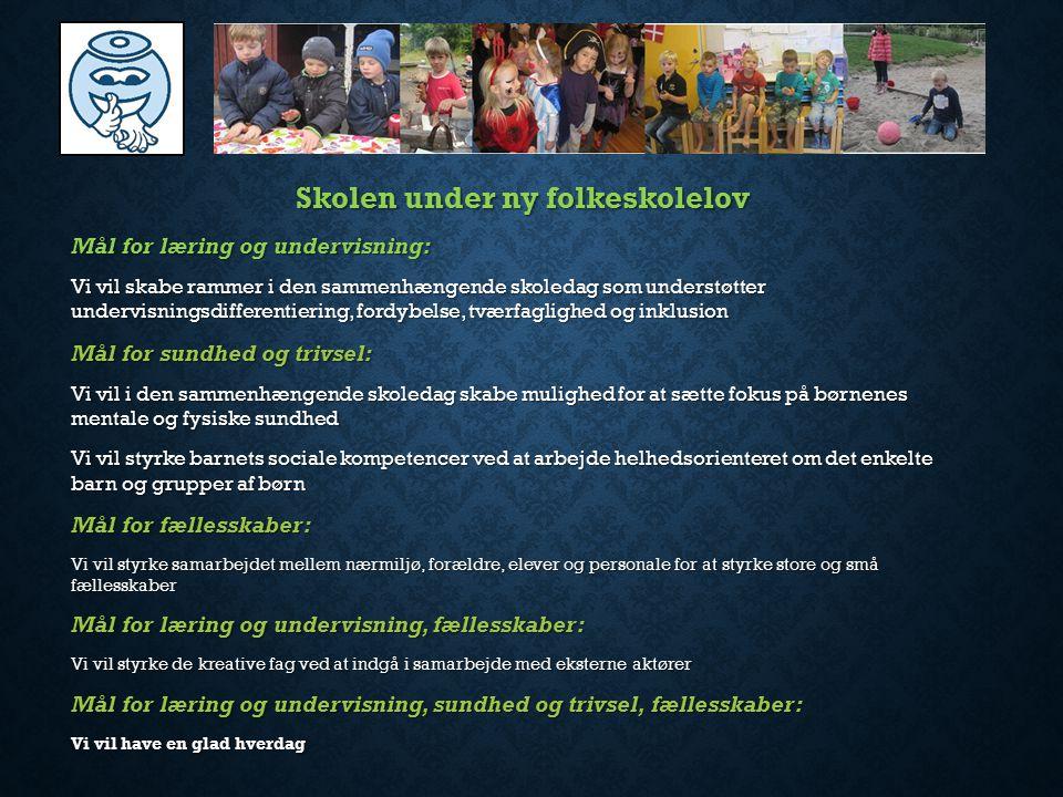 Skolen under ny folkeskolelov
