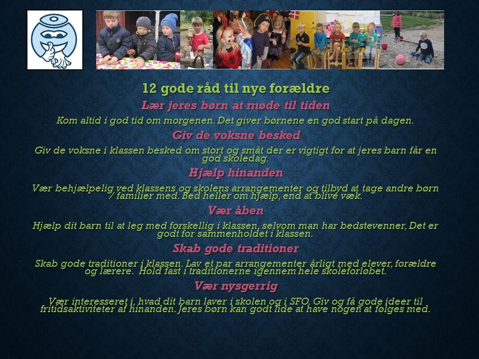 12 gode råd til nye forældre