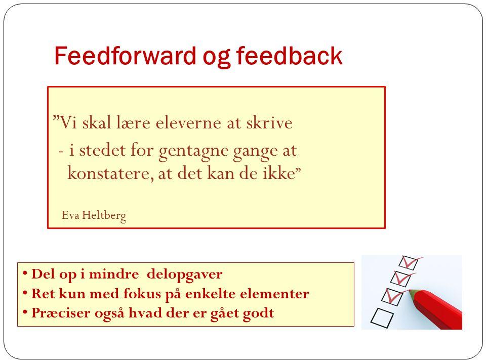 Feedforward og feedback